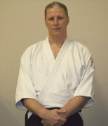 Graham Cossey chief instructor at North cotswolds Aikido Club