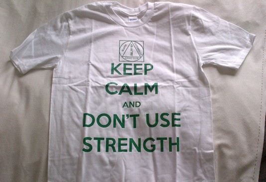 Keep Calm and Dont Use Strength